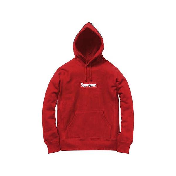 Blusa de Moletom Canguru Supreme Vermelho