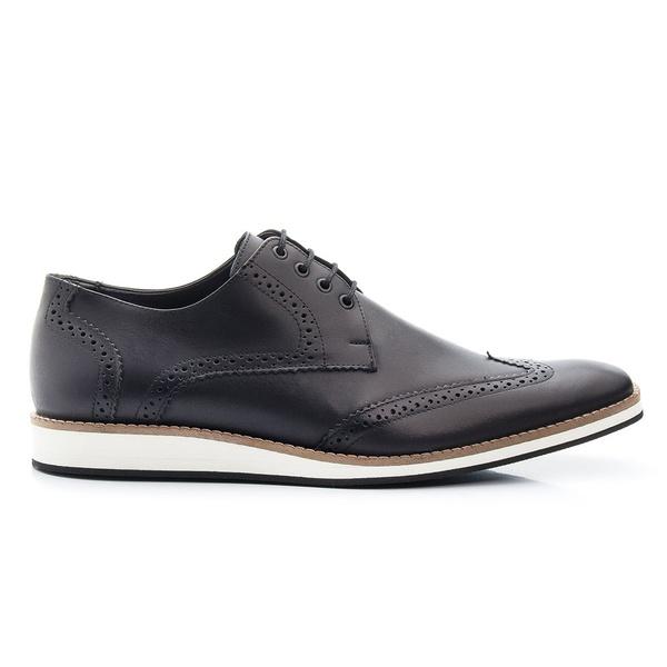 Sapato Oxford Masculino em Couro cor Preto