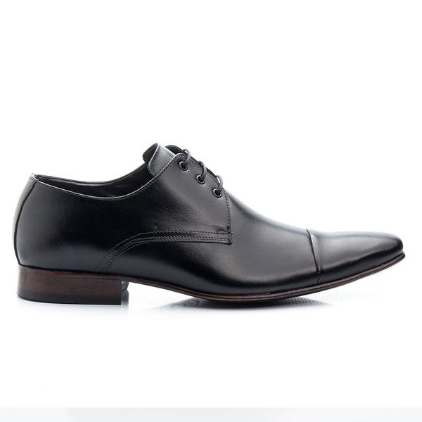 Sapato Social em Couro Legítimo Cor Preto