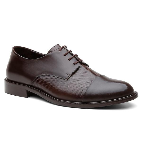 Sapato Social Alemanha Café - Bernatoni Calçados