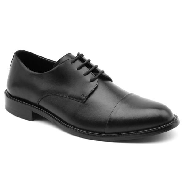 Sapato Social Bernatoni Alemanha Preto Liso