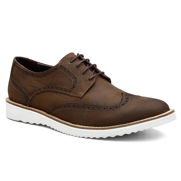 Sapato Brogue Bernatoni Milão Tabaco