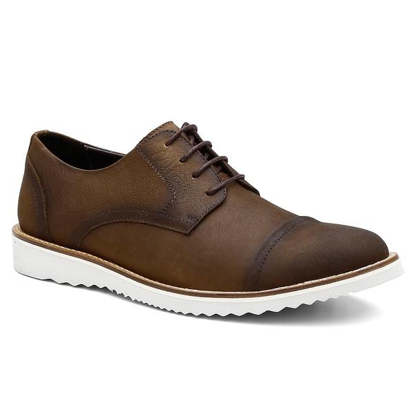 Sapato Casual Bernatoni Madrid Tabaco