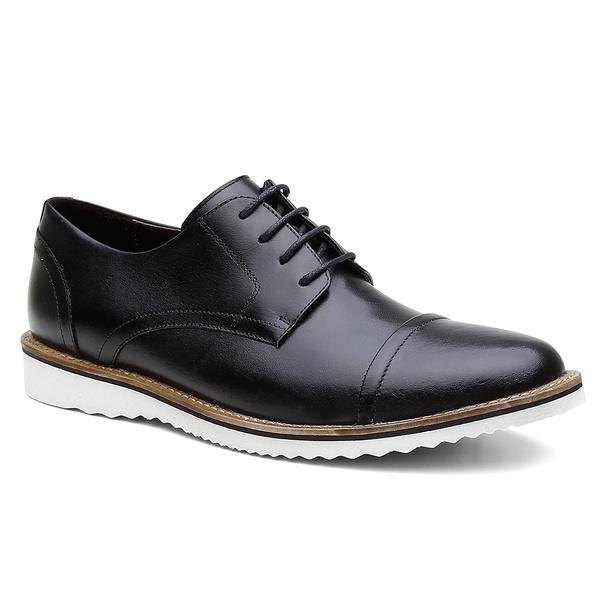 Sapato Casual Bernatoni Madrid Preto
