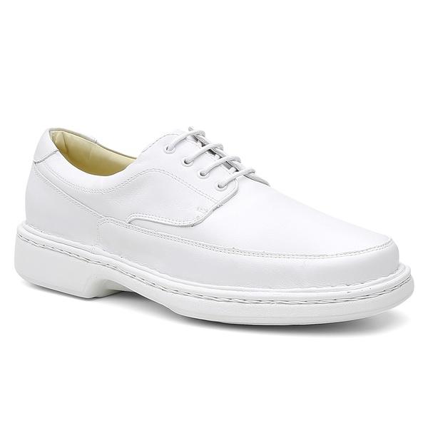 Sapato Conforto Havana Branco - Bernatoni Calçados