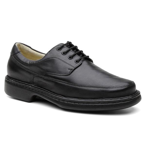 Sapato Conforto Havana Preto - Bernatoni Calçados