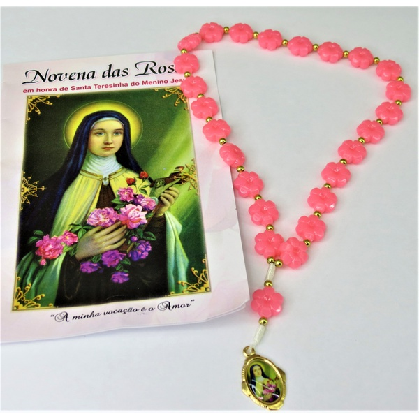 Novena das Rosas - Santa Teresinha do menino Jesus - Rosa