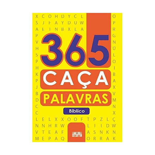 Livro : 365 Caça Plavras - Bíblico