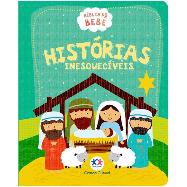 Livro : Bíblia do bebê - Histórias Inesquecíveis