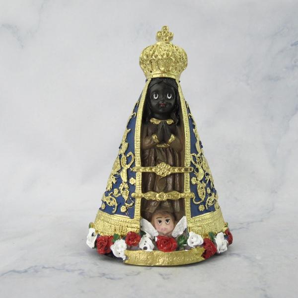 Imagem em Resina - Nossa Senhora Aparecida Baby 15 cm