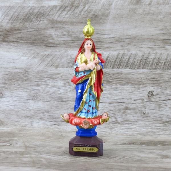 Imagem Resina- Nossa Senhora da Abadia 23 cm