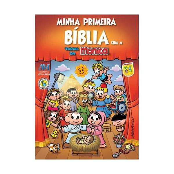 Minha Primeira Bíblia com a Turma da Mônica- Bolso