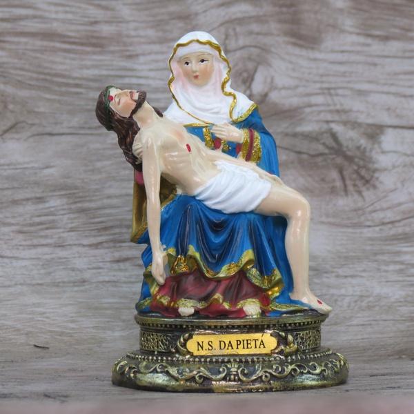 Imagem Resina - Nossa Senhora da Pietá 10 cm