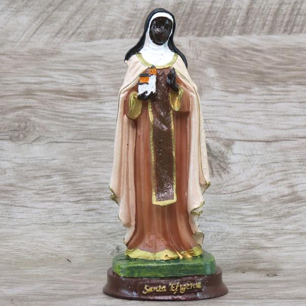 Imagem Resina - Santa Efigenia 15 cm