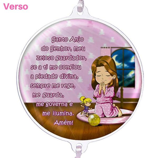 Dezena De Berço Anjo Da Guarda Rosa