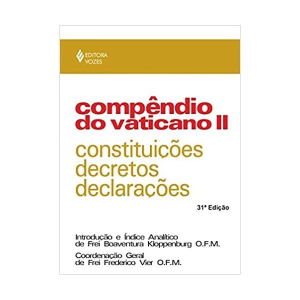 Livro : Compêndio do Vaticano II: Constituições, decretos e declarações Capa comum