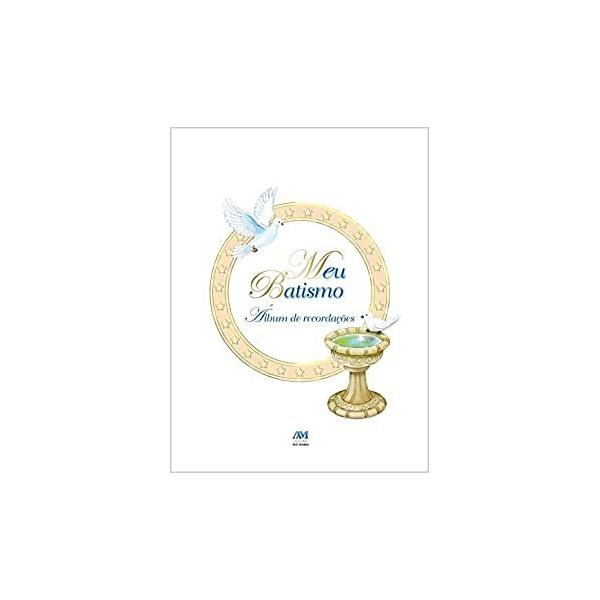 Livro : Meu Batismo - Álbum de Recordações - Capa Dura