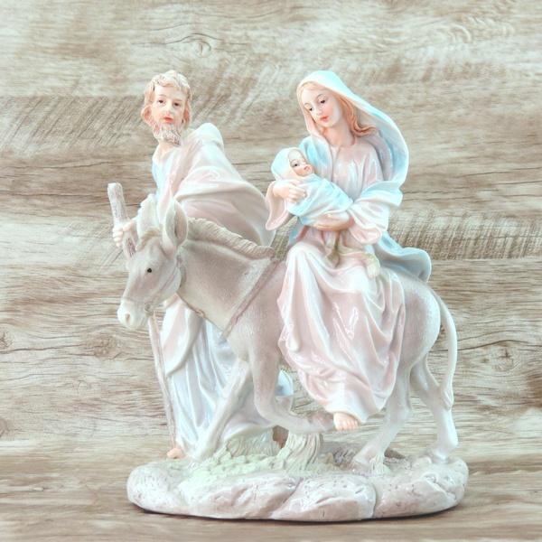 Imagem : Nossa Senhora Desterro / Sagrada Família -30 cm