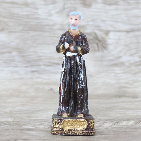 Imagem em Resina - São Padre Pio 10 cm
