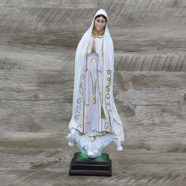 Imagem Resina - Nossa Senhora de Fátima 25 cm