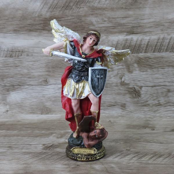 Imagem em Resina - São Miguel Arcanjo 20 cm