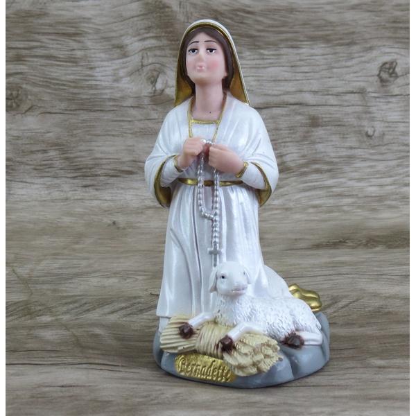 Imagem Resina - Santa Bernadete 20 cm