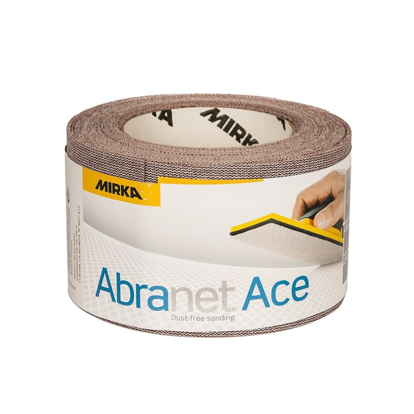 MIRKA ABRANET ACE 75MMX10M P080 ROLO DE LIXA