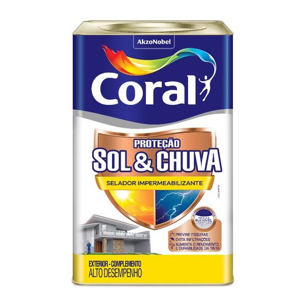 CORAL PROTECAO SOL & CHUVA FUNDO IMPERMEABILIZANTE 18L