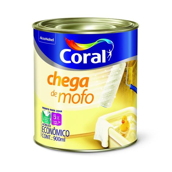 CORAL CHEGA DE MOFO BRANCO 0,900ML