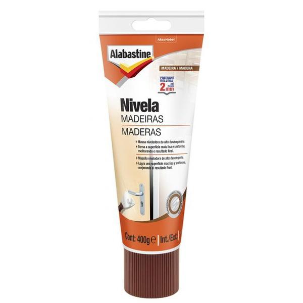 ALABASTINE NIVELA MADEIRAS 0,400GR