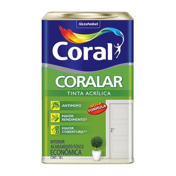 CORAL CORALAR ACRILICO BRANCO 18L