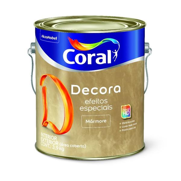 CORAL DECORA EFEITOS ESPECIAIS MARMORE BASE 3L