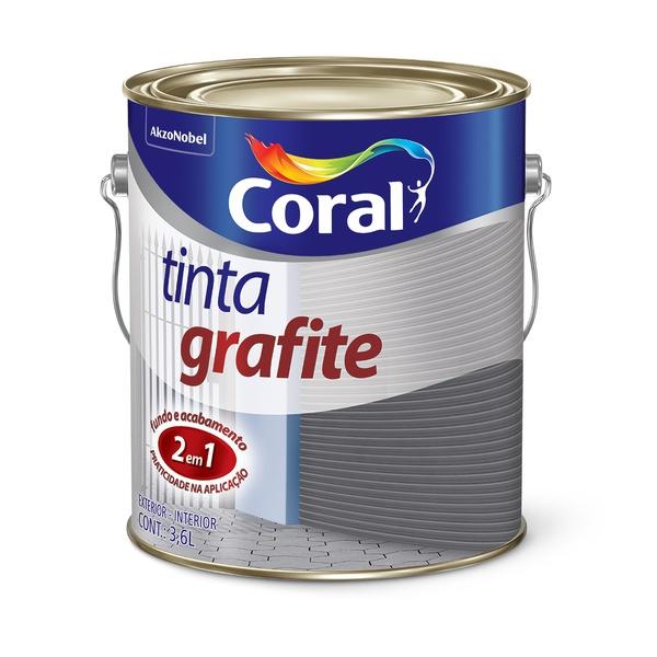 CORAL GRAFITE CINZA CLARO 3,6L