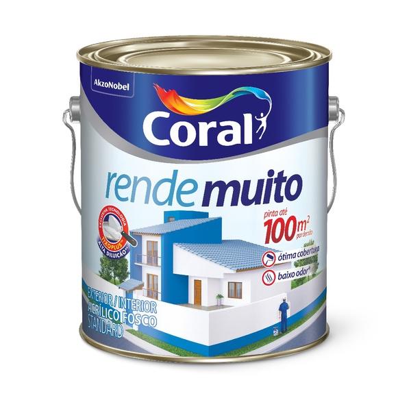 CORAL RENDE MUITO BRANCO 3,6L