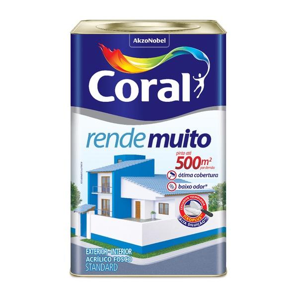 CORAL RENDE MUITO VERMELHO CARDINAL 18L
