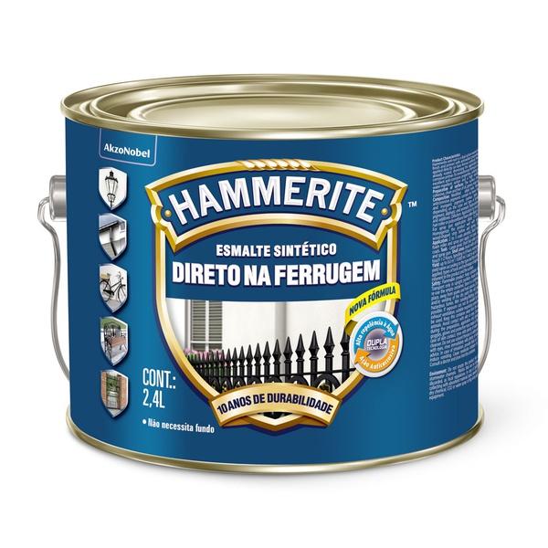 HAMMERITE BRILHANTE BRANCO 2,4L