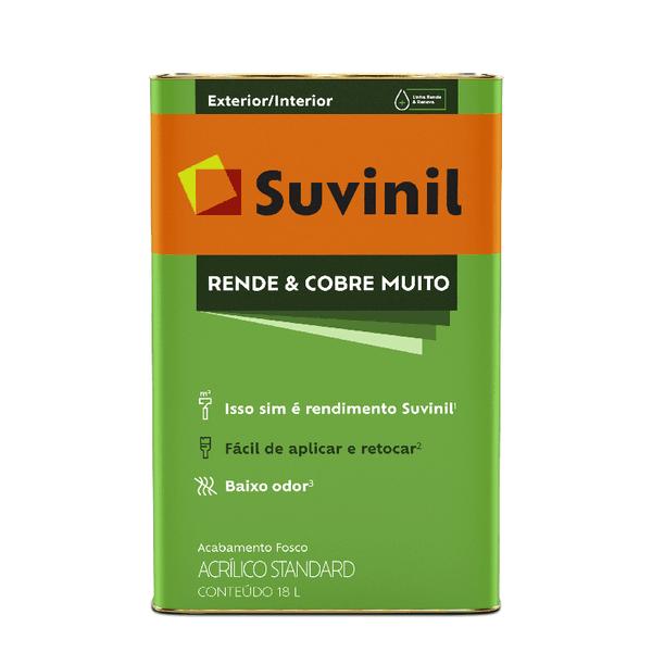 SUVINIL RENDE E COBRE MUITO BRANCO 18L