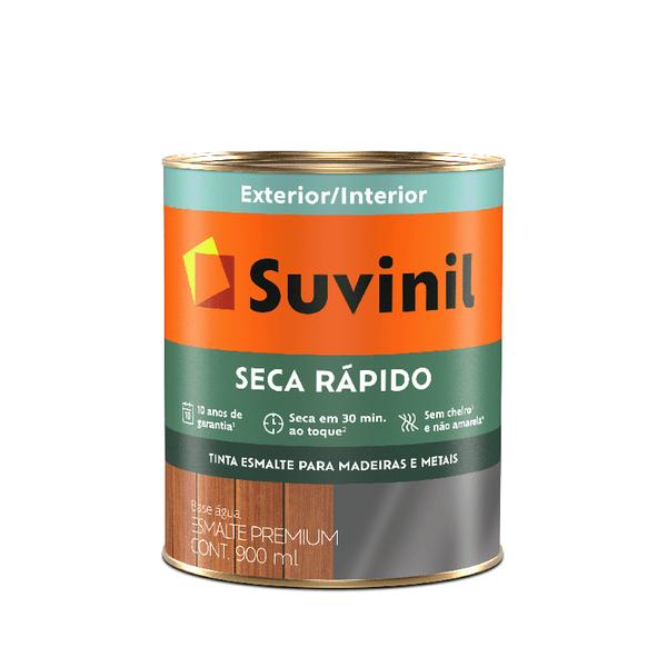 SUVINIL ESMALTE SECA RAPIDO BRILHANTE BRANCO 0,900ML