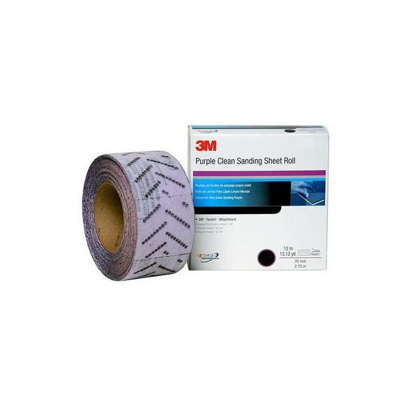 3M CLEAN SAND DISC ROLO 115MM P400