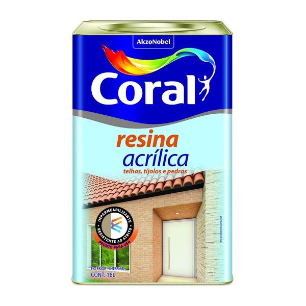 CORAL RESINA ACRILICA 18L