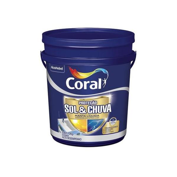 CORAL PROTECAO SOL & CHUVA MANTA LIQUIDA 12KG