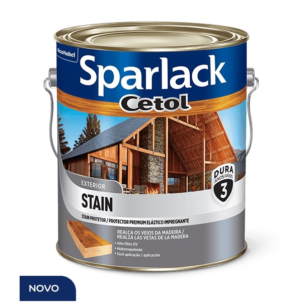 SPARLACK CETOL STAIN ACETINADO 0,900ML