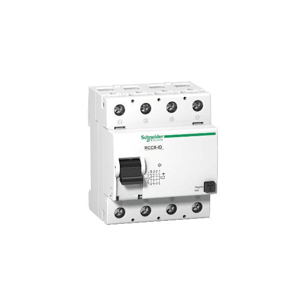 Disjuntor Diferencial Residual Tetrapolar 30ma 100a 415vac - 16900 - Schneider
