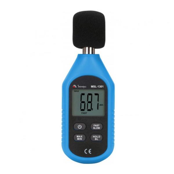 Decibelímetro 31.5Hz a 8kHz Minipa MSL-1301