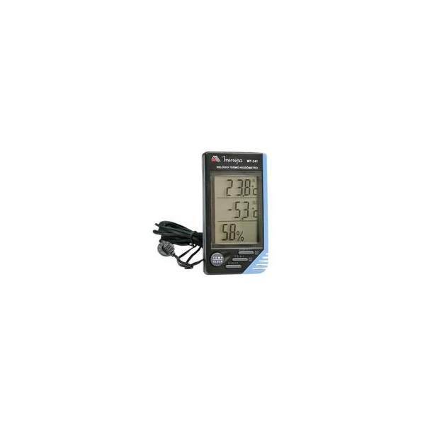 Relógio Termo-Higrômetro com Sensor Externo MINIPA MT-241