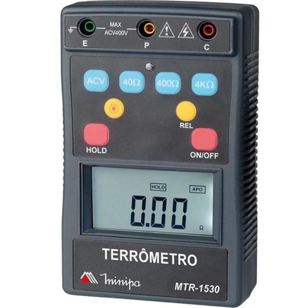 Terrômetro Digital MTR-1530 Minipa