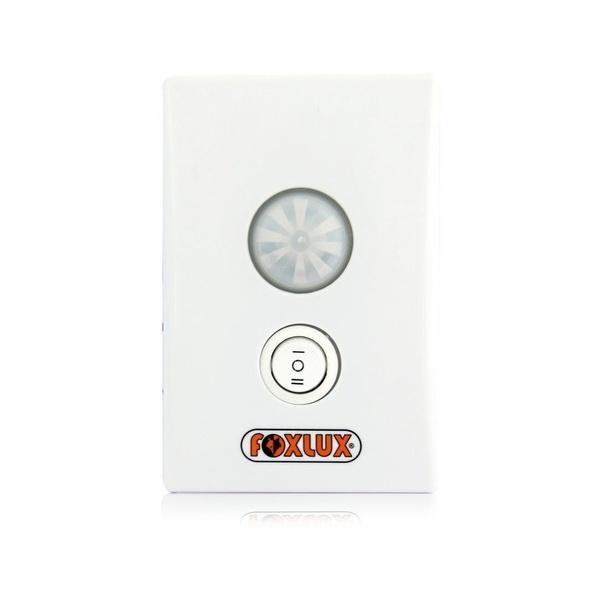 Sensor De Presença 180º Embutir 4x2 De Parede Foxlux 3202