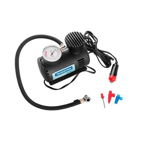 Mini Compressor de Ar Portátil 42330/001 Tramontina Preto