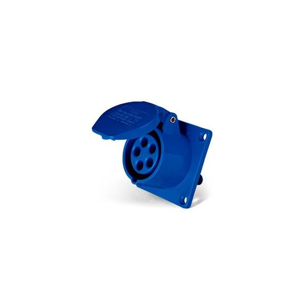 Tomada Embutir Lukma 3P+T 16A 220-240V 9H Azul