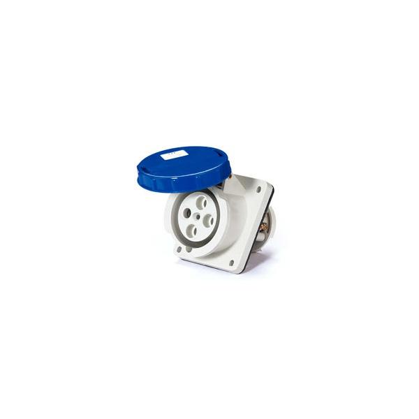 Tomada Embutir Lukma 3P+T 63A 220-240v 9h Azul